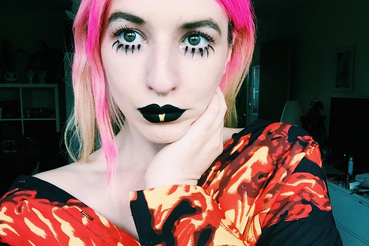 goth doll look 2