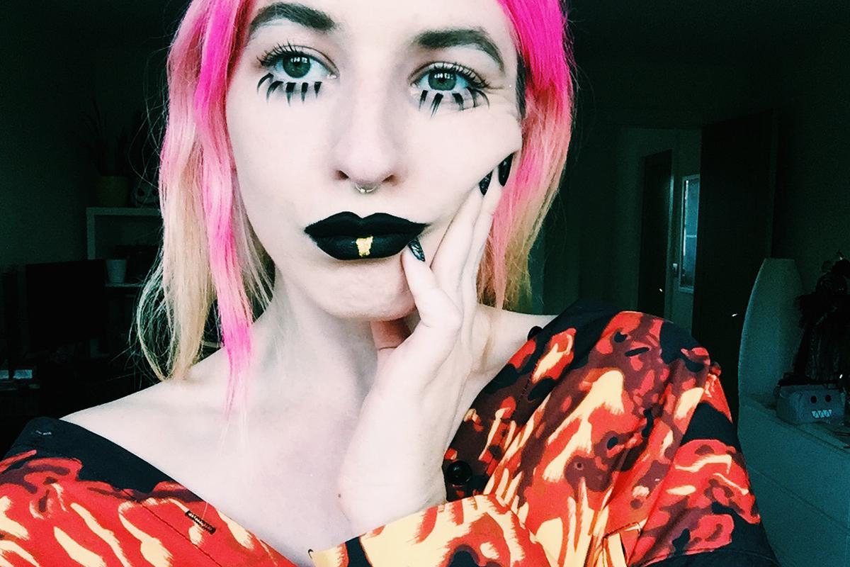 goth doll look 3