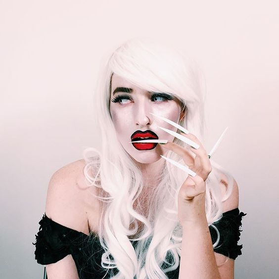 halloween, make up, drag, sharon needles