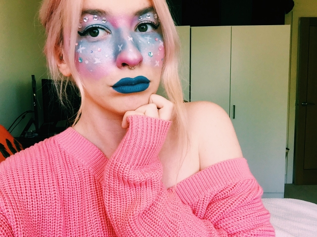 how to space themed intergalactic fairy look