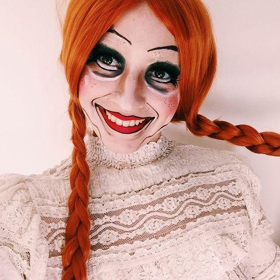 annabelle, doll, horror, halloween