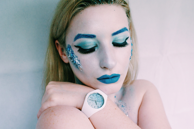 ice queen watch blue make up elsa frozen