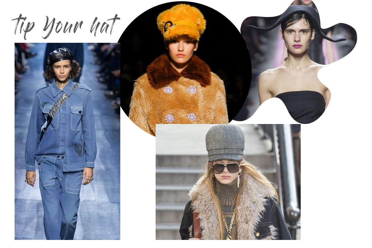 autumn trend hats