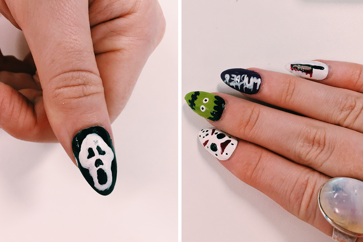 halloween nails 5