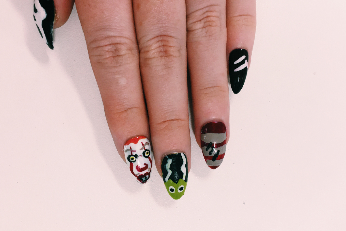 halloween nails 7