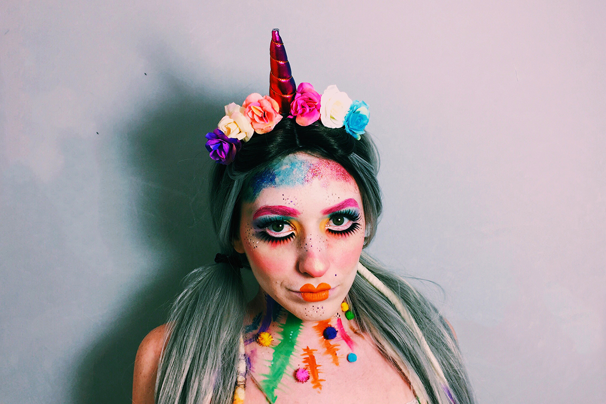 halloween rainbow doll 2