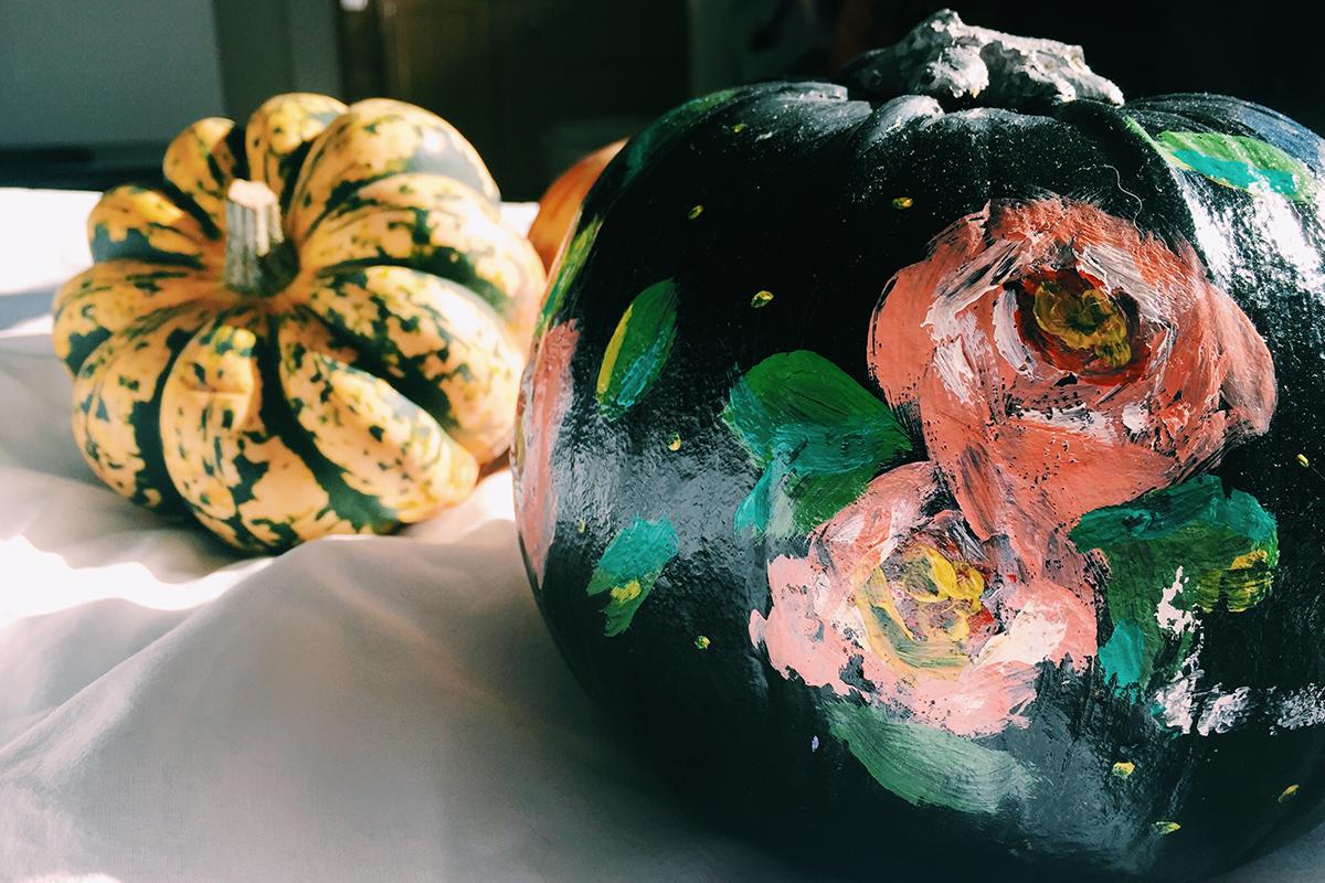 no carve pumpkin 5