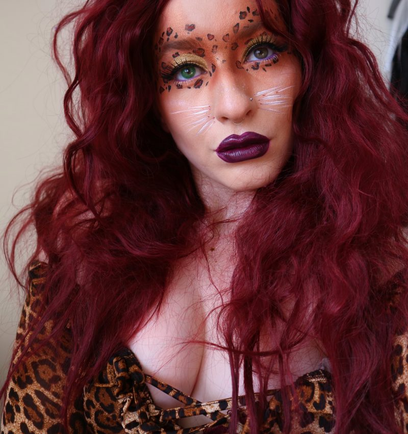 Feline Fierce My Cat Makeup Tutorial Life With Maria - Cheshire-cat-makeup-tutorial-you